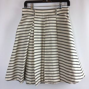 Kate Spade New York Stripe A Line Skirt